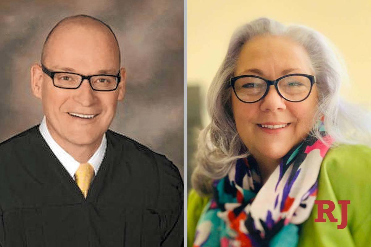 Rob Bare and Christy Craig, candidates for District Court Department 32 Rob (Rob Bare/Craig, Fa ...