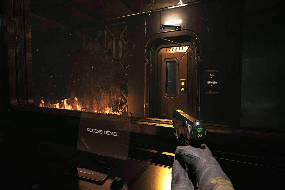 Quantum Error is an upcoming first-person shooter horror game. (Photo courtesy of TeamKill Media)