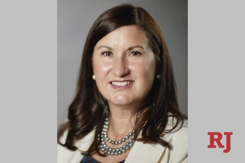 Melody Rose started Sept. 1 as the new chancellor of the Nevada System of Higher Education. (N ...