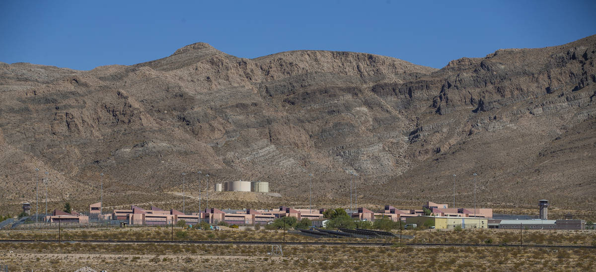 The Southern Nevada Correctional Center on Friday, Sept. 4, 2020, in Jean. (L.E. Baskow/Las Veg ...