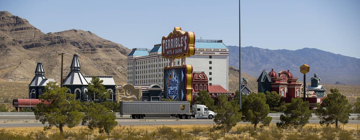 Terrible's Hotel & Casino still temporarily closed on Friday, Sept. 4, 2020, in Jean. (L.E. ...