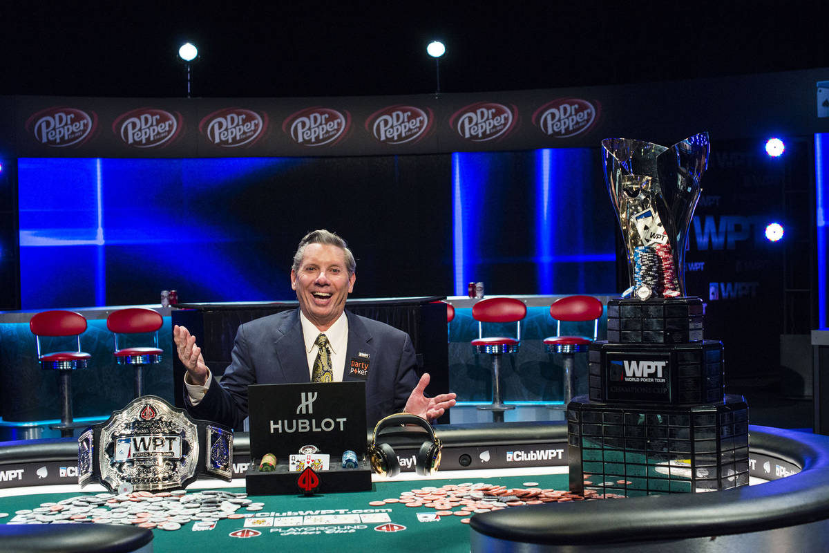 Mike Sexton won a World Poker Tour event in Montreal in 2016. (World Poker Tour)