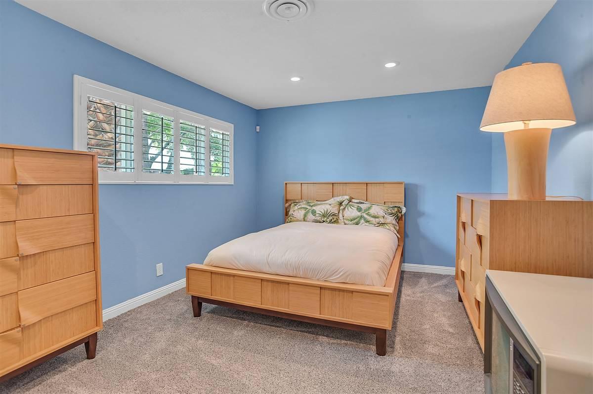 One of five bedrooms. (Nartey Wilner Group)
