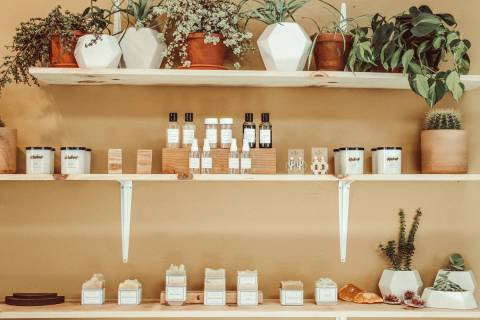 Featuring a rotating selection of locally made goods, The Market Shop will celebrate its grand ...