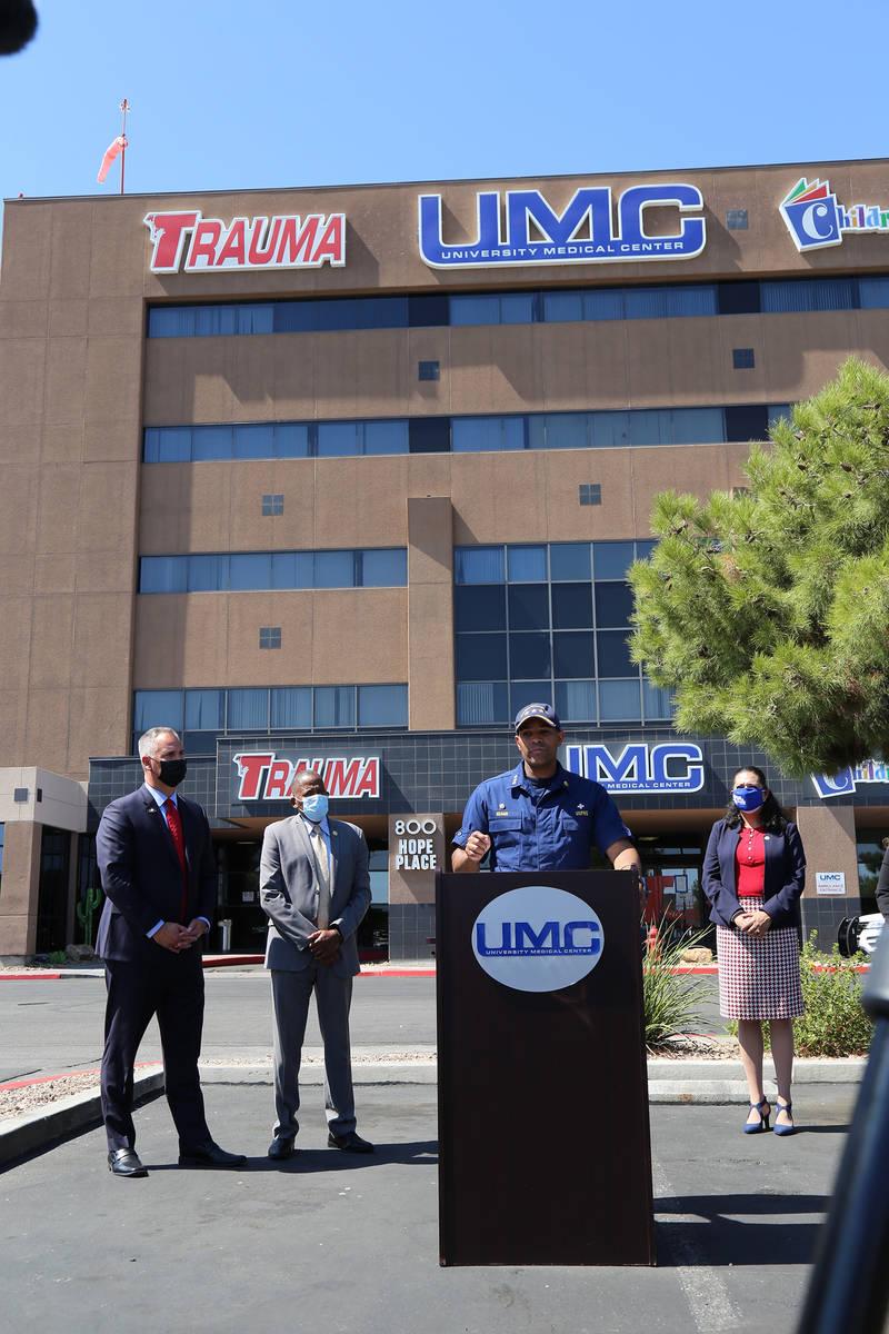 (Danny Romero/University Medical Center of Southern Nevada)