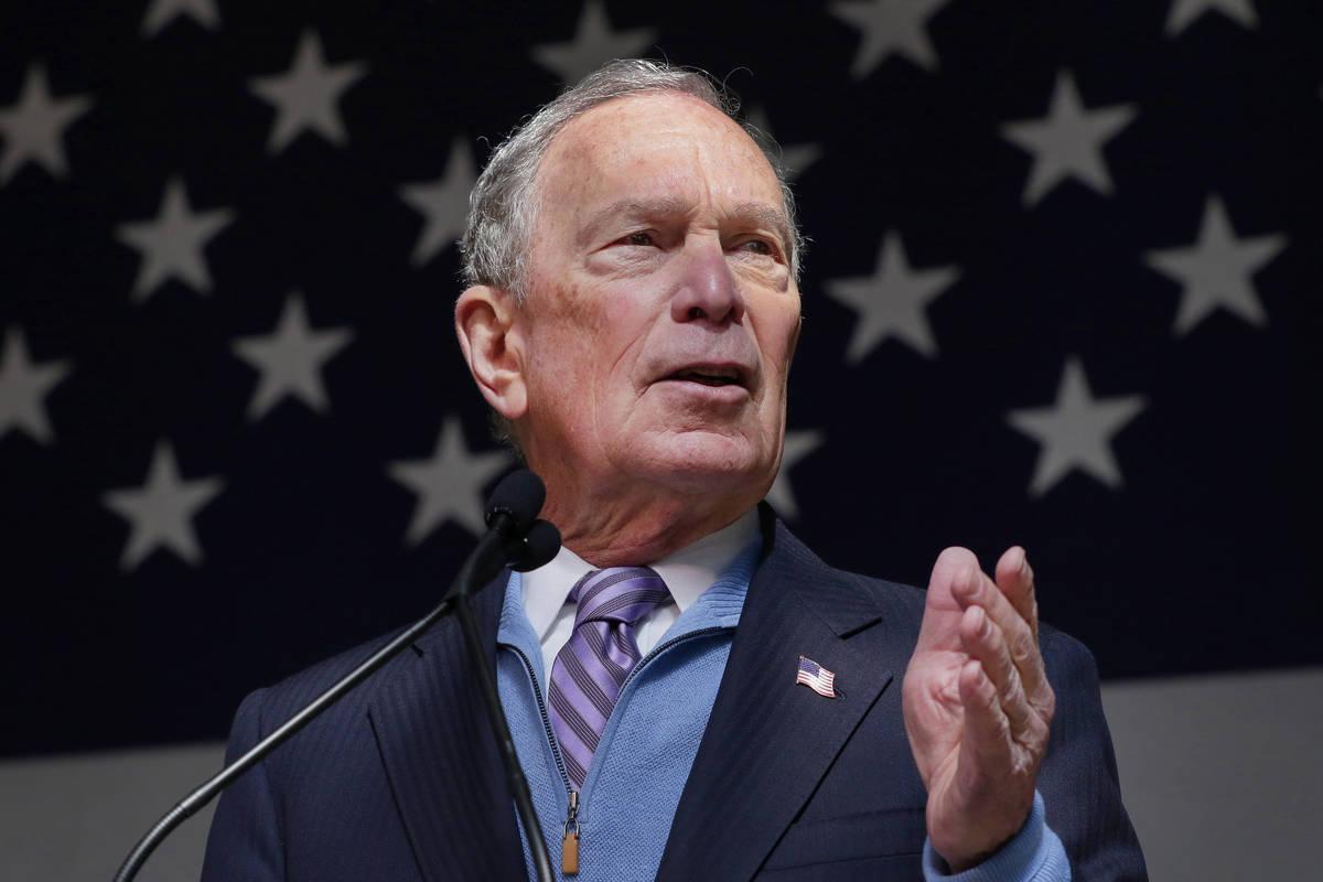 Michael Bloomberg (AP Photo/Michael Wyke)