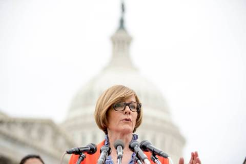 Rep. Susie Lee, D-Nev., a Problem Solvers Caucus member, spoke in favor of Tuesday's proposal. ...