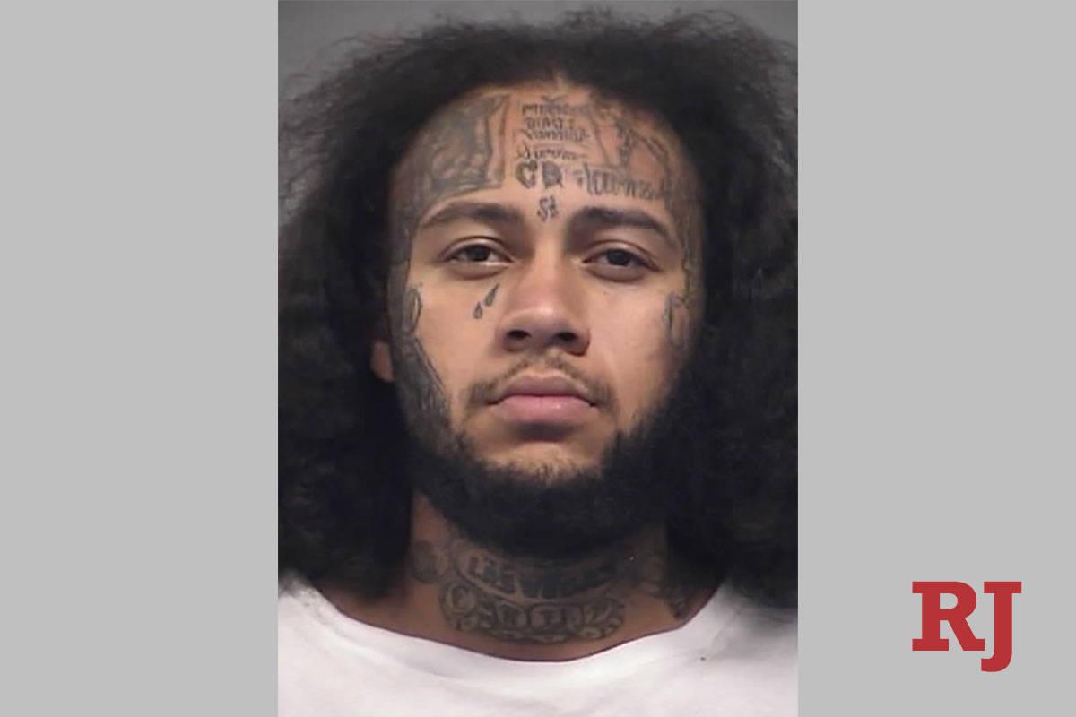 Keandre Sims. (North Las Vegas Police Department)