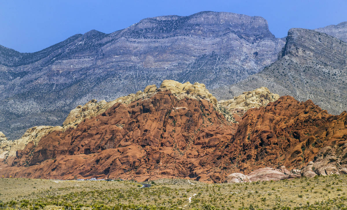 The Red Rock Canyon National Recreation Area is starting a timed entry reservation system for t ...
