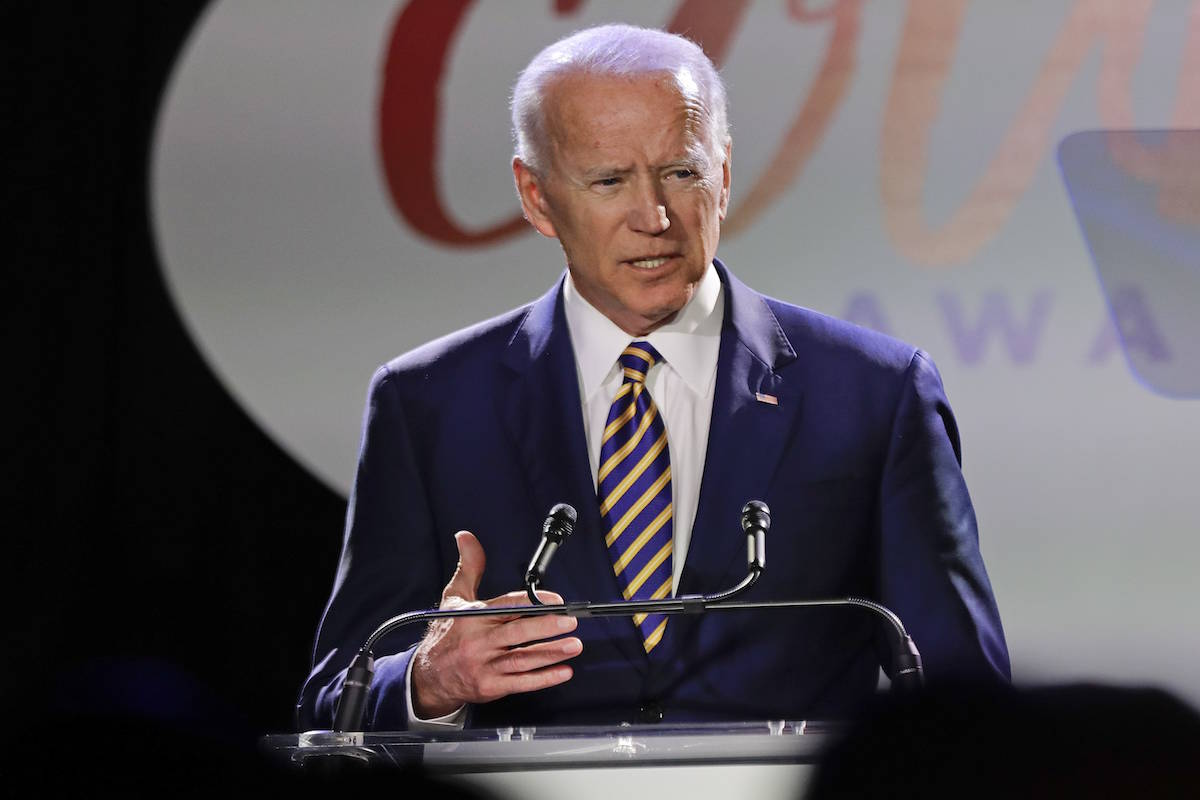 Former vice president Joe Biden (AP Photo/Frank Franklin II)