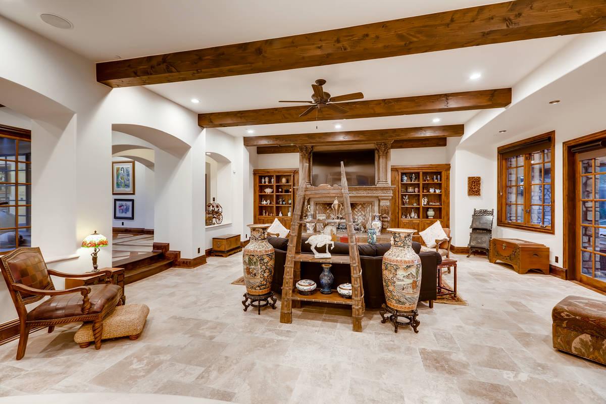 The living room. (The Crampton Team)