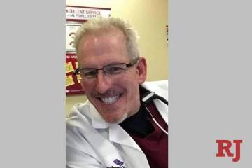 Greg Peistrup, APRN, ENP-C, CFRN, CEN, at North Vista Hospital in 2020. (Courtesy Kristin Bell- ...