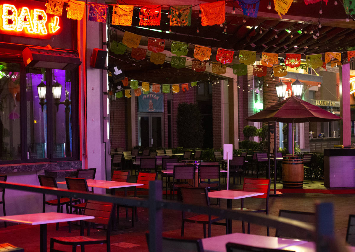 Chayo Mexican Kitchen + Tequila Bar remains closed although bars were allowed to reopen for the ...