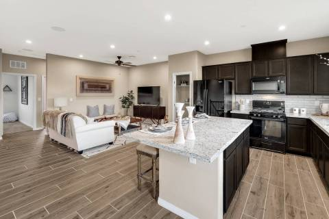 Union Trails town homes in Henderson by Beazer Homes will hold a grand opening event Sept. 26-2 ...