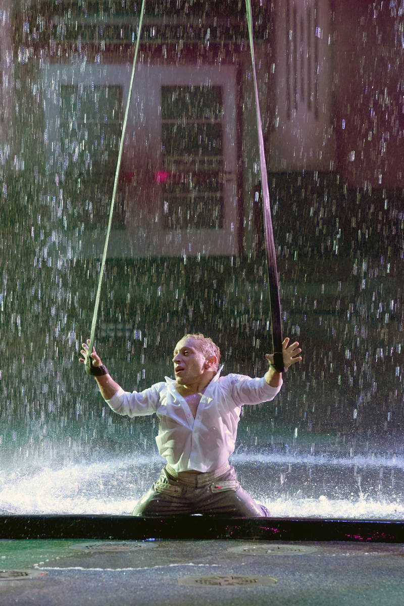 "Alan Silva is seen in his final performance on ""America's Got Talent."" (Chris Haston/NBC)"