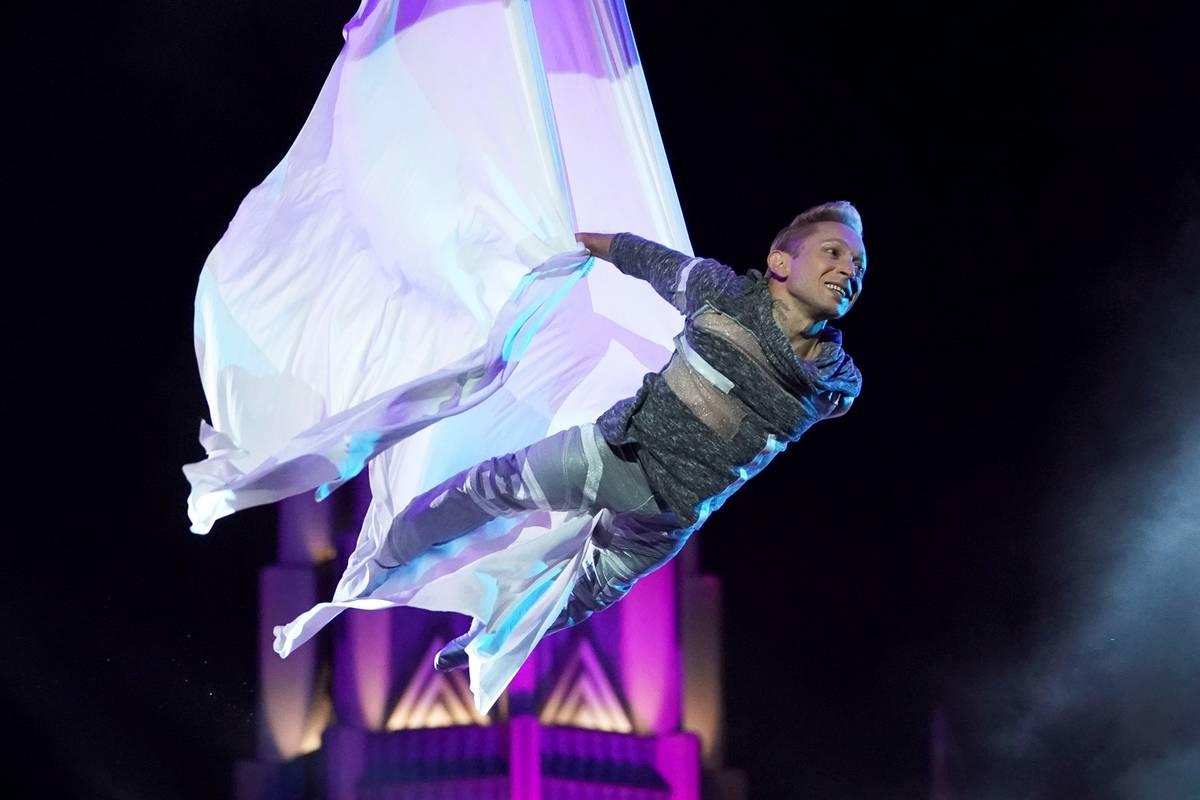 "Alan Silva is seen in his semifinal performance on ""America's Got Talent."" (Chris Haston/NBC)"