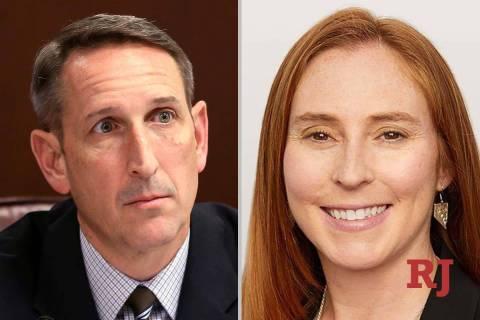 ScottHammond and LizBecker, candidates for Nevada Senate District 18 (Las Vegas Rev ...