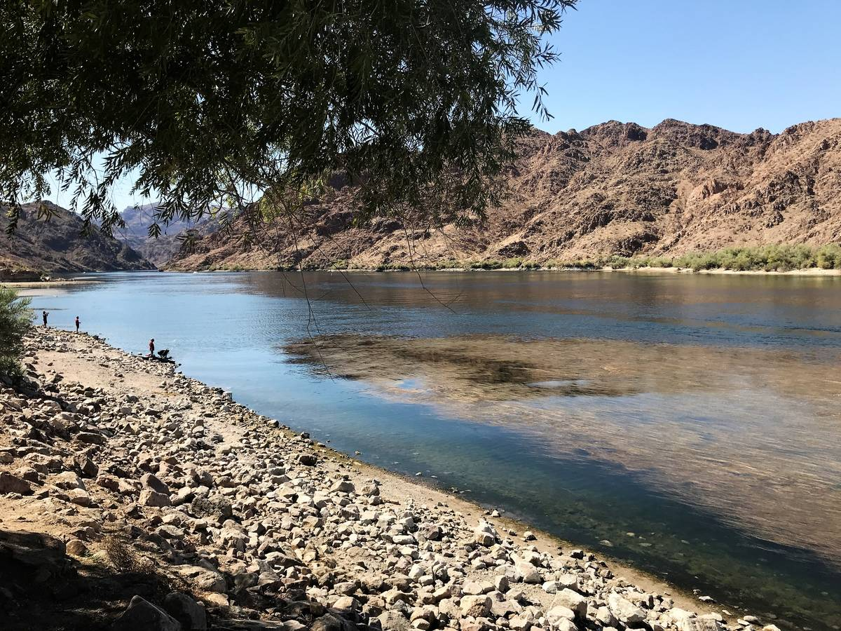 Dropping water levels at Lake Mohave are the result of an annual drawdown by the Bureau of Recl ...