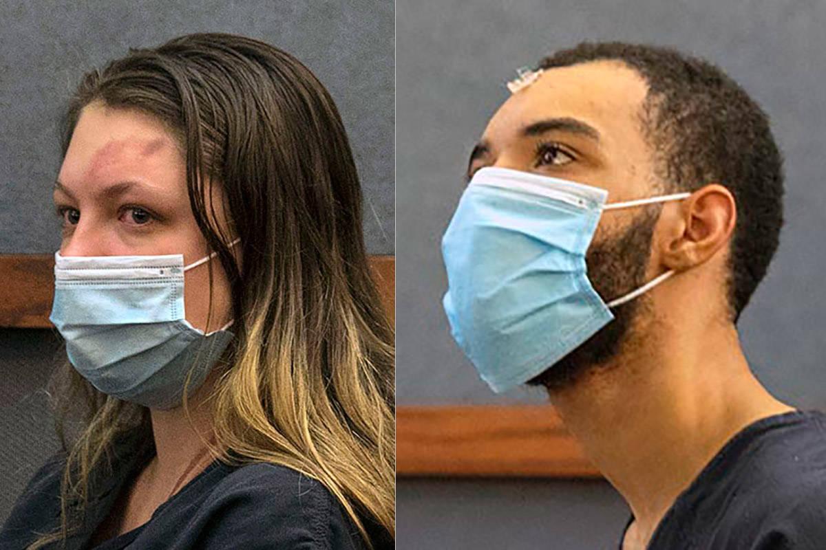 Lauren Prescia, left, and Cameron Hubbard-Jones. (Las Vegas Review-Jornal)