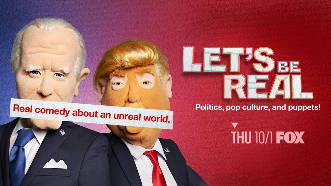 "A promotional photo of the puppets in the skit show ""Let's Be Real,"" which airs 9 p.m. Thursday ..."