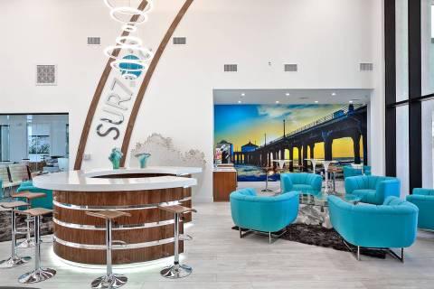 SUR702 is a luxury apartment community at 6614 Blue Diamond Road in southwest Las Vegas. It is ...