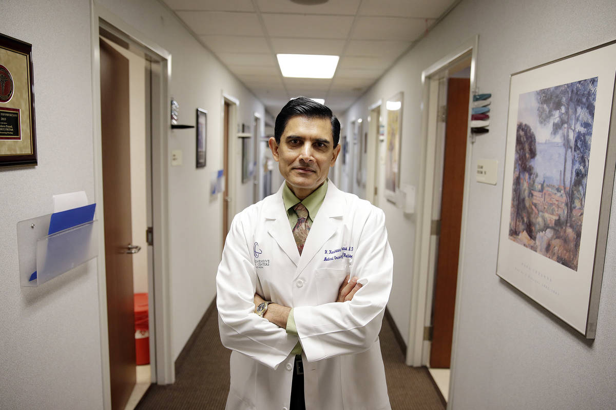 H. Keshava Prasad is an oncologist at the Comprehensive Cancer Centers of Nevada