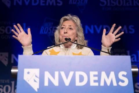 Congresswoman Dina Titus (Benjamin Hager Las Vegas Review-Journal file)