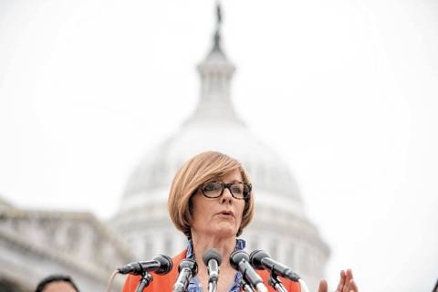 Rep. Susie Lee, D-Nev. (AP Photo/Andrew Harnik, File)