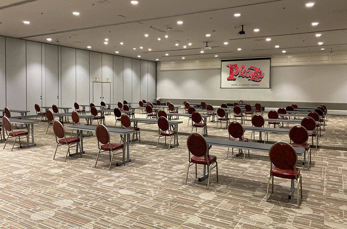 The Plaza's 30,000 square feet of convention space allows for mandatory social distancin ...