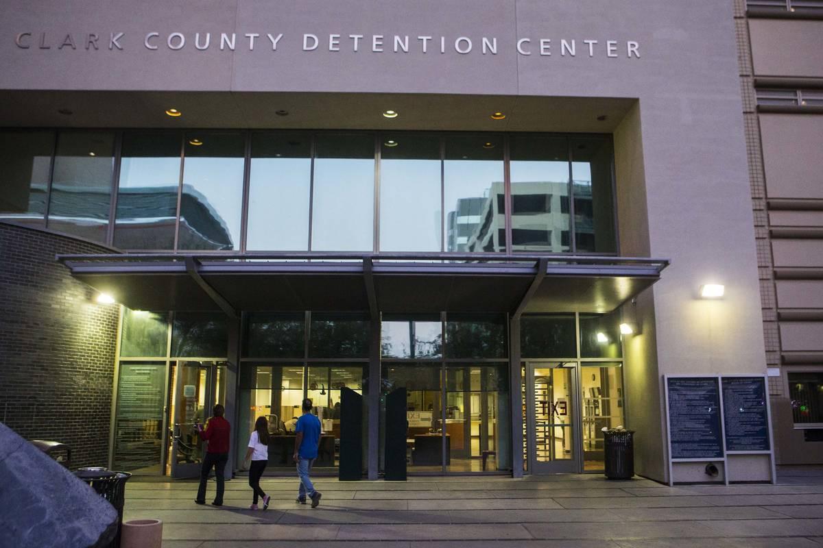 Clark County Detention Center (Chase Stevens/Las Vegas Review-Journal)