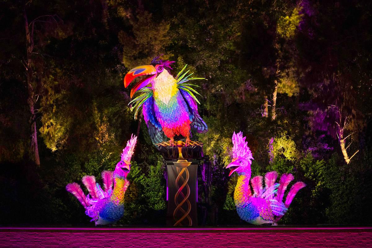 Lady Birds are shown at Lake of Dreams at Las Vegas (Eric Jamison)