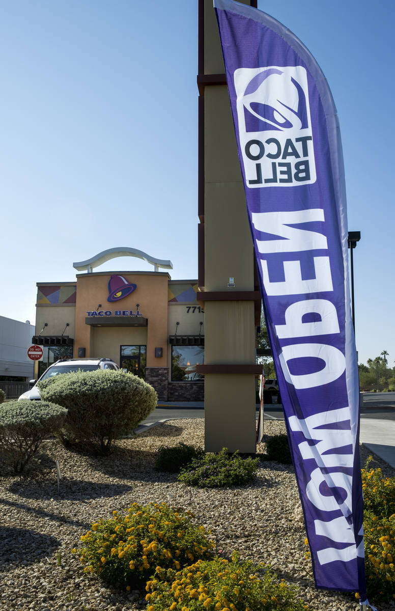 A Taco Bell now open and owned by Silver State Bell, LLC, a subsidiary of California-based A&am ...