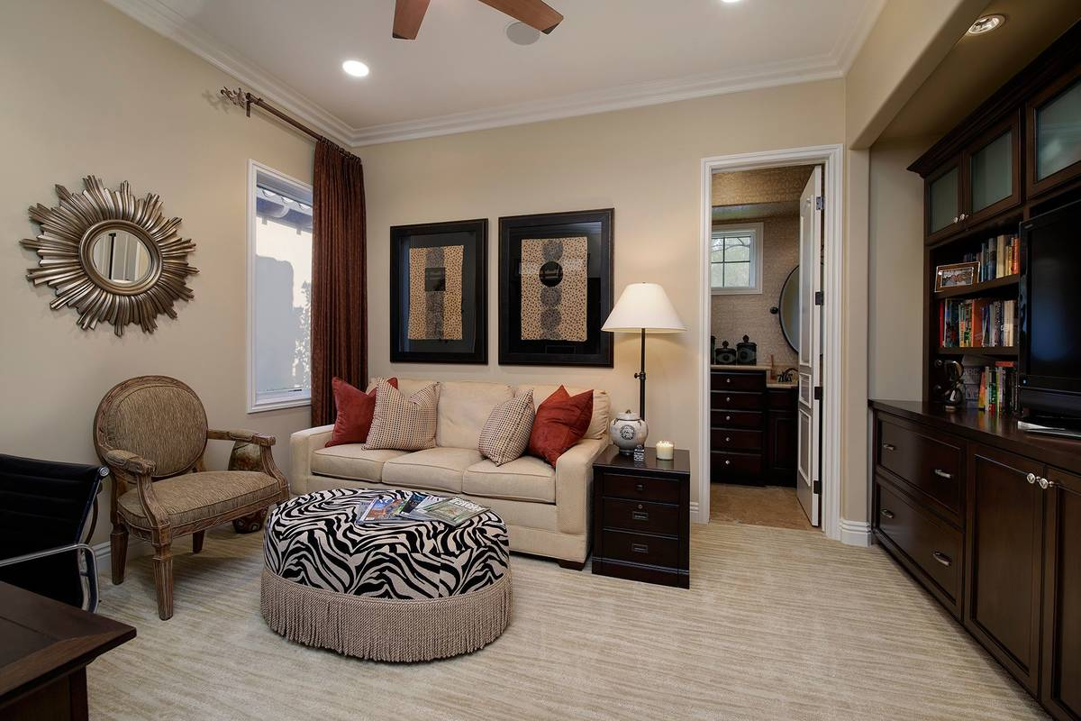 The master suite has a lounge. (Synergy Sotheby's International Realty)