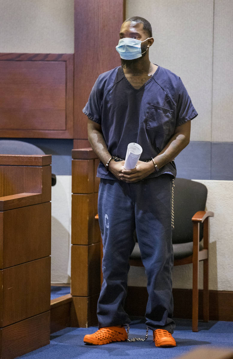 Sidney Deal stands with paperwork during a hearing on child abuse charges in connection with th ...