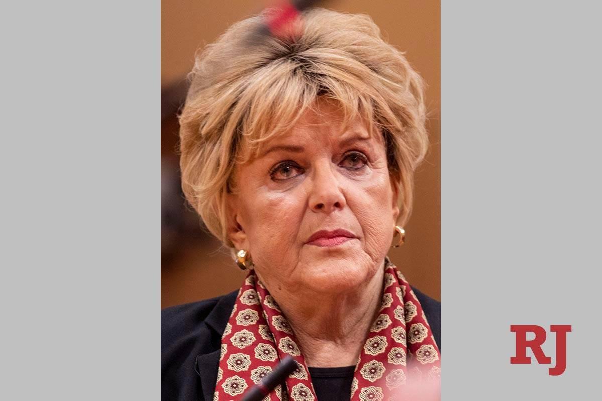 Las Vegas Mayor Carolyn Goodman (Las Vegas Review-Journal)