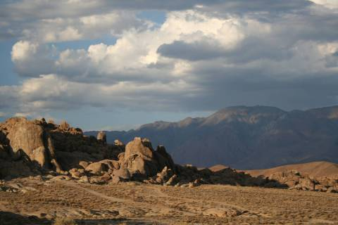 The Alabama Hills National Scenic Area is just a couple of miles outside Lone Pine, California. ...