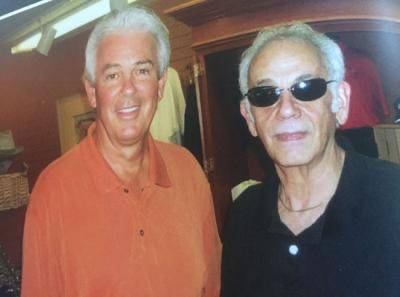 Jack Sheehan, left and famed organized-crime figure Jimmy Chagra.