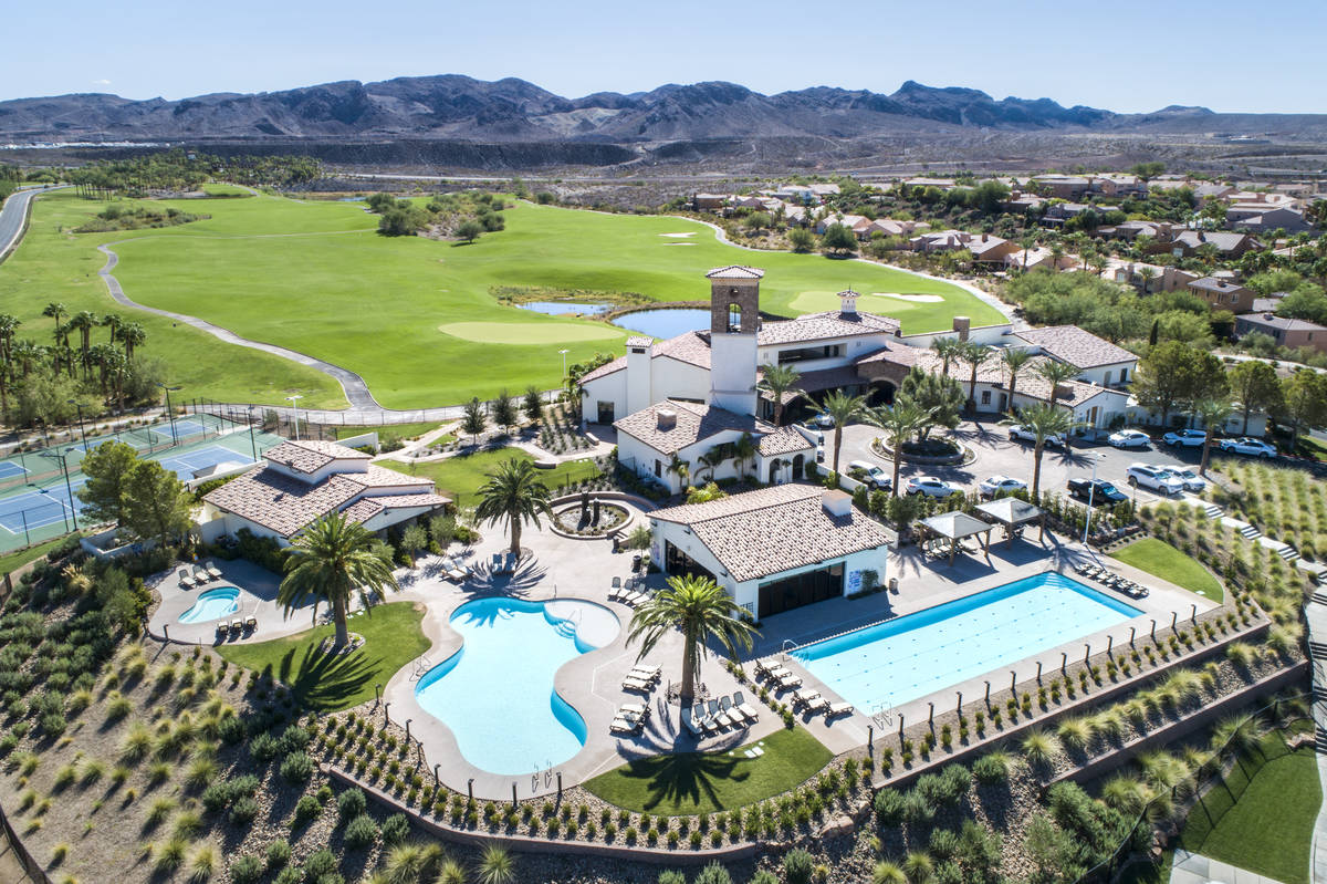 The weekend long Explore Lake Las Vegas Sports Weekend event will feature a series of activitie ...