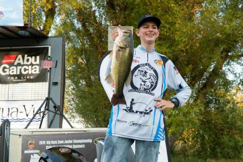One fish can make all the difference. Just ask Las Vegan Carter Doren, who won the 2020 Big Bas ...