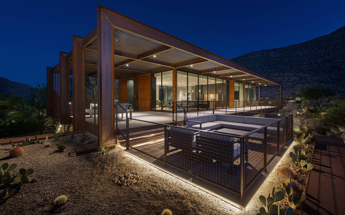 The home was designed by Punch Architecture. (The Ivan Sher Group)