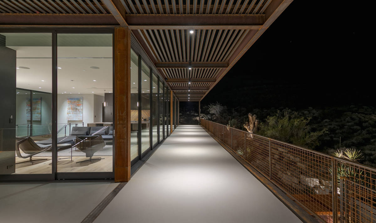 The home has an expansive deck. (The Ivan Sher Group)