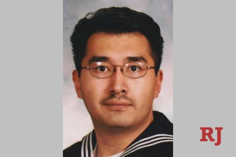 This early 2000s photo shows Lloyd Napouk in his Navy uniform. Napouk was shot and killed by La ...