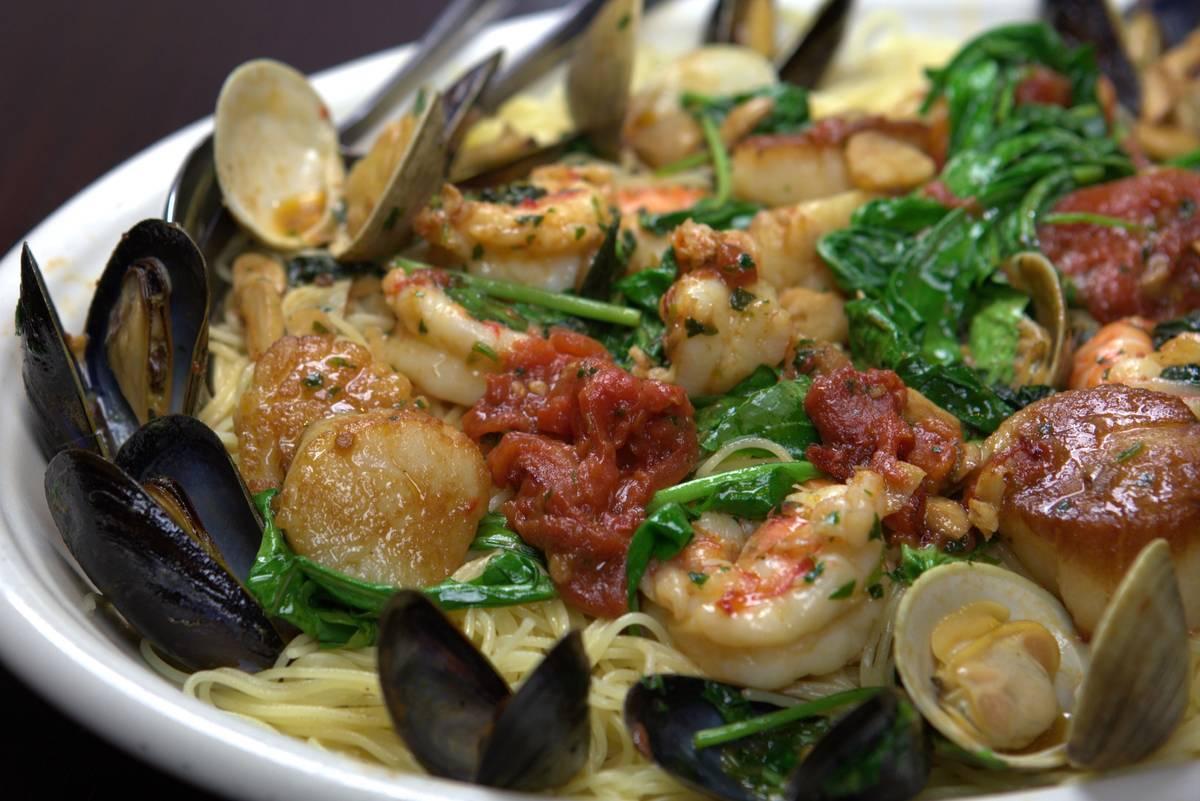 Capellini Marechiara at Carmine's. (Carmine's)