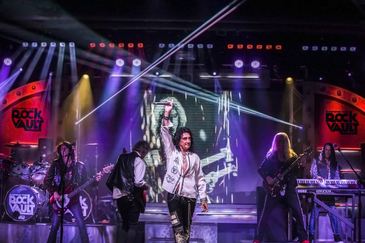 'Raiding the Rock Vault' classic rock revue on Monday, May 1, 2017, at Vinyl at the Hard Rock h ...