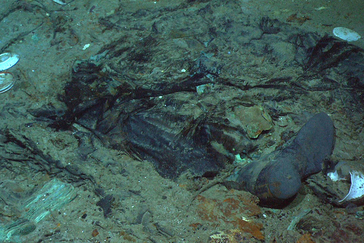 This 2004 photo provided by the Institute for Exploration, Center for Archaeological Oceanograp ...