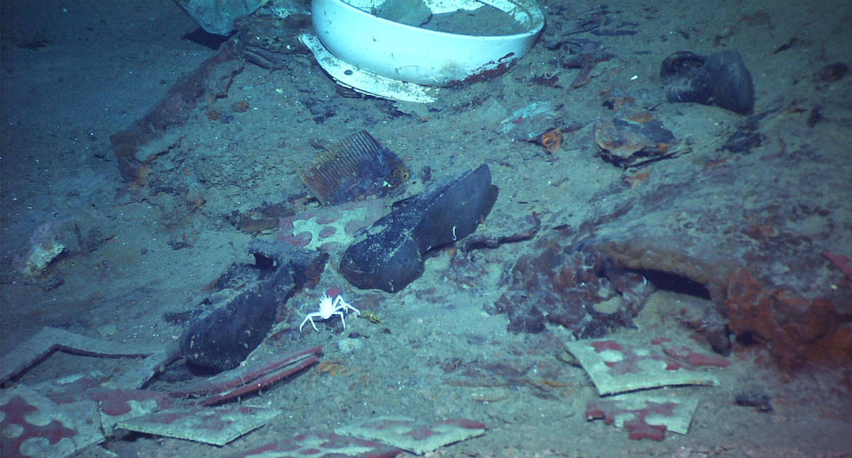 This 2004 image provided by the University of Rhode Island's Institute for Exploration and Cent ...