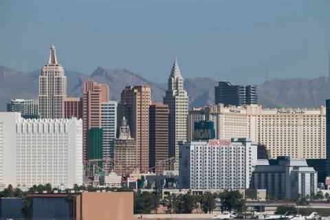 The Las Vegas Strip. (Las Vegas Review-Journal/File)
