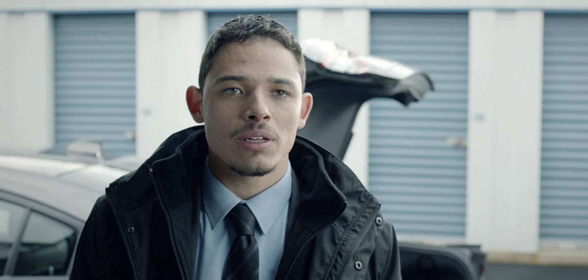 """This image released by Open Road Films shows Anthony Ramos in a scene from """"Honest Thief.& ..."""