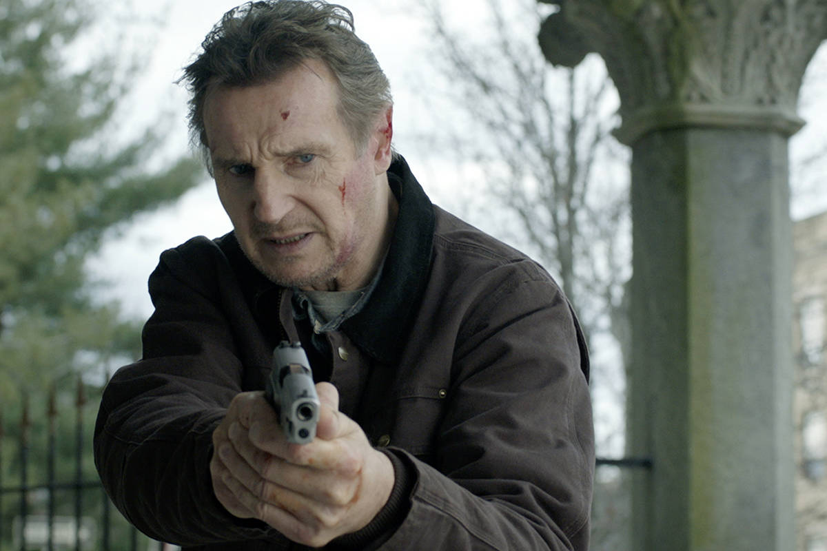"""This image released by Open Road Films shows Liam Neeson in a scene from """"Honest Thief.&qu ..."""