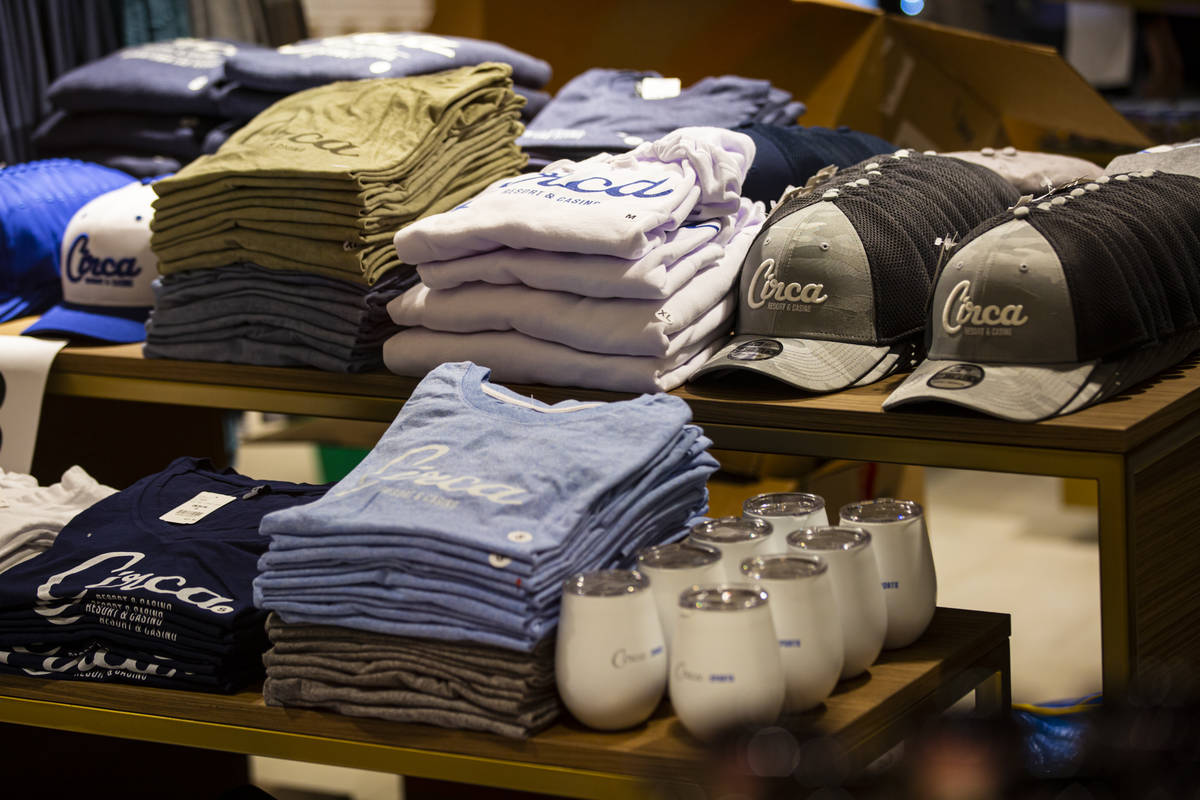 Merchandise at Circa Essentials on the second floor is seen during a tour of Circa, the first f ...